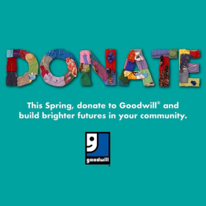 Goodwill, best places to donate clothes
