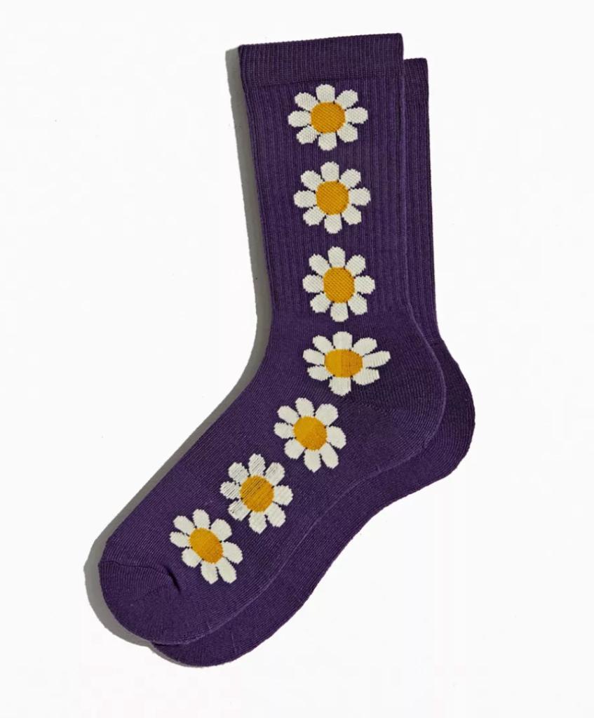 Repeat Sunflower Crew Sock