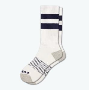 Bombas Men's Vintage Stripe Calf Socks