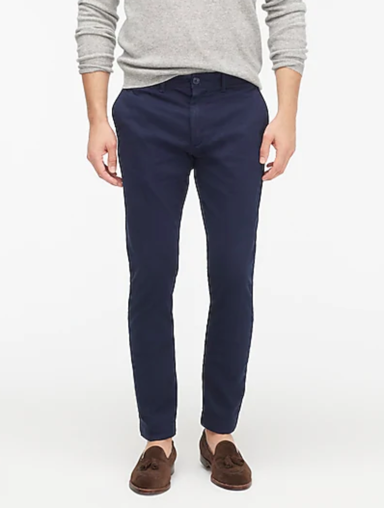 J. Crew Skinny-Fit Pant In Stretch Chino