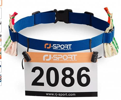 RJ Sport Race Number Belt