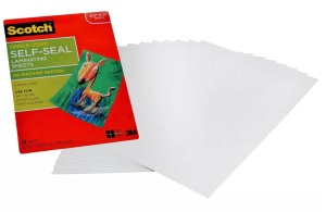 scotch self-seal laminating sheets, where to store your covid vaccine card