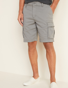 Old Navy Lived-In Straight Cargo Shorts for Men