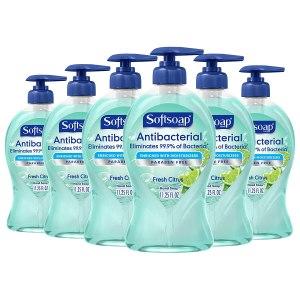 softsoap antibacterial hand soap, foaming hand soap