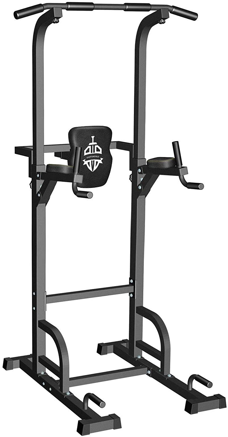 Sportsroyals Power Tower Dip Station Pull-up Bar