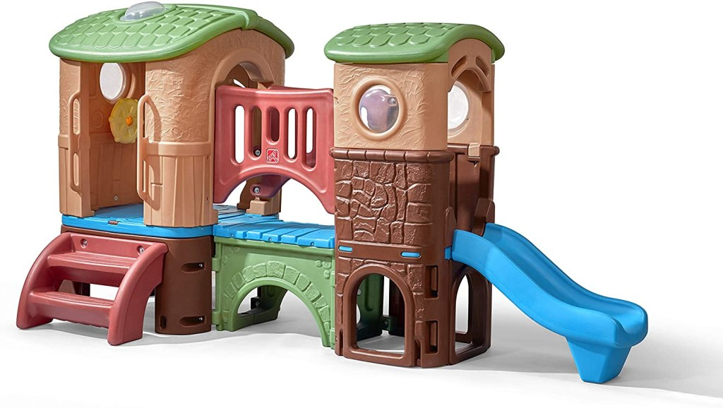 Step2 Clubhouse Climber, best outdoor playset