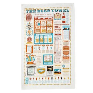 stuart gardiner the beer lovers tea towel