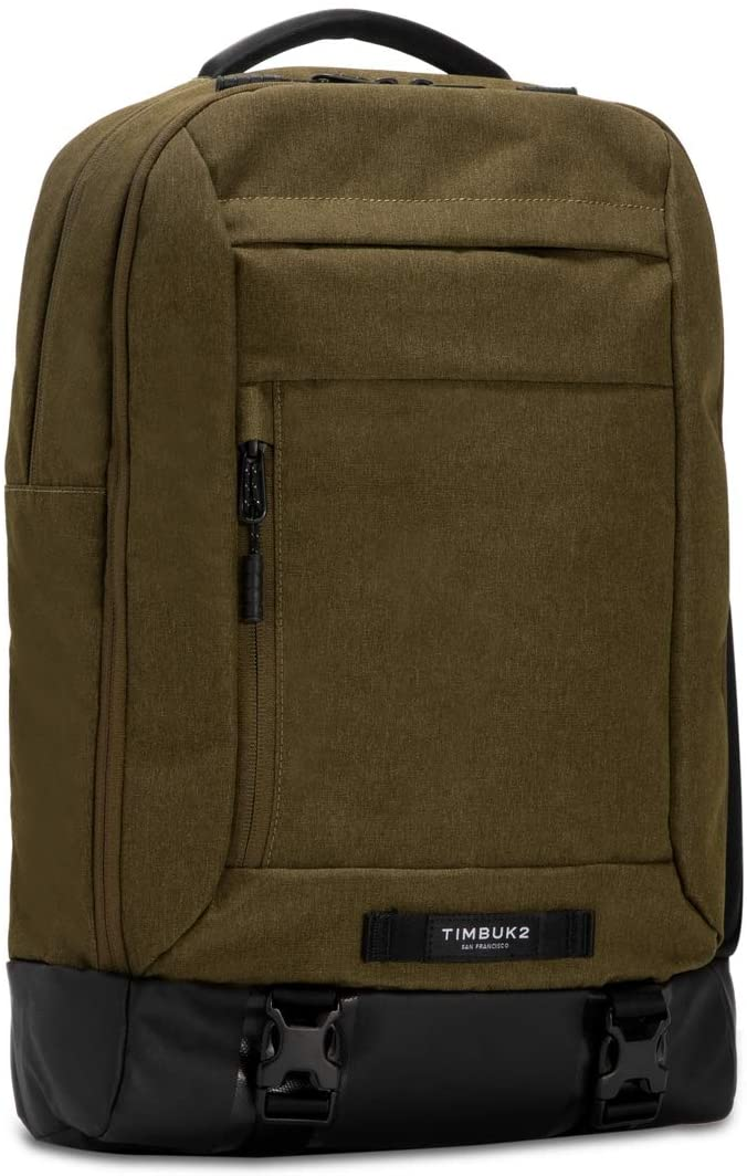 TIMBUK2 Authority Laptop Backpack Deluxe in Olivine, best laptop backpack