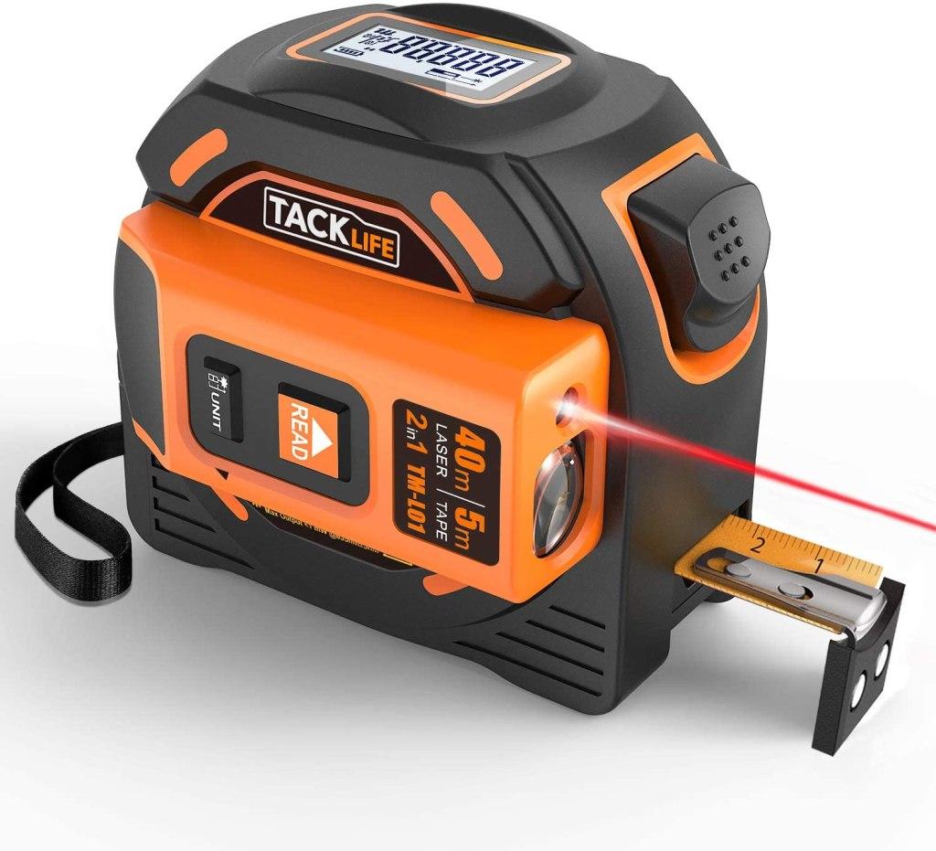 TackLife Laser Tape Measure