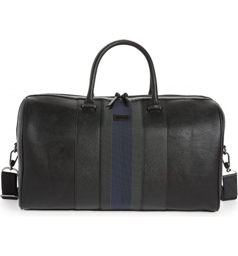 Ted Baker London Leather Duffle Bag