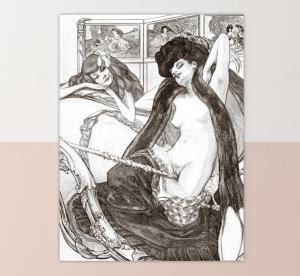 the joys of eros black and white print