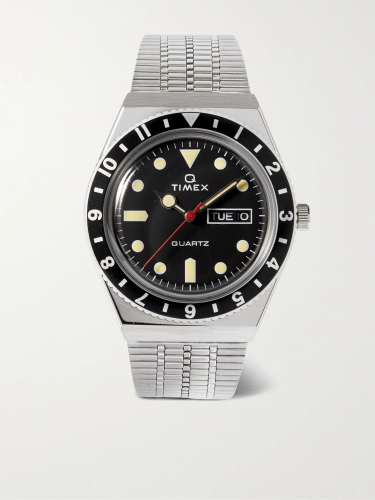 Timex Q Reissue Stainless Steel Watch