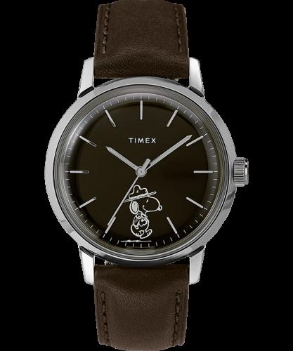 Timex x Peanuts Marlin Automatic Beagle Scout Watch