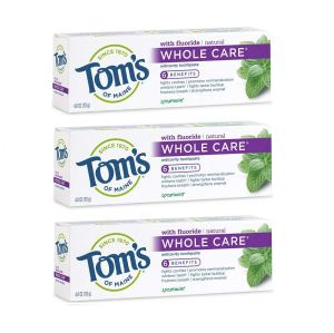 tom's of maine toothpaste, natural toothpaste