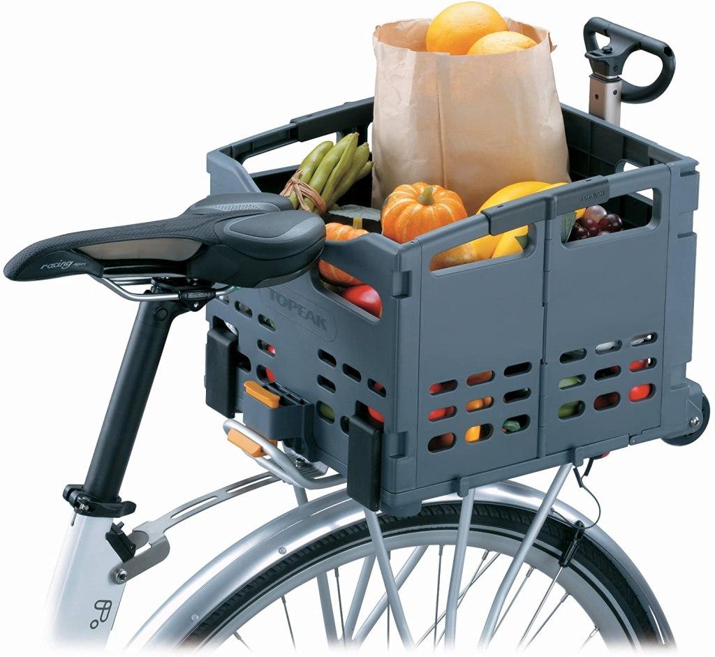 Topeak TrolleyTote Folding MTX Rear Bike Basket