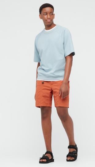 Uniqlo-Nylon-Utility-Geared-Shorts