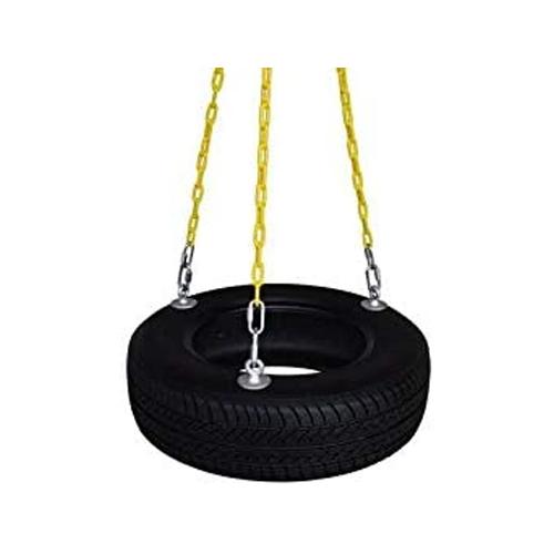 Safari Swings Fun Old Fashioned Real Rubber Tire Swing Set