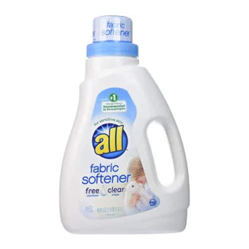 all Liquid Fabric Softener, Free Clear for Sensitive Skin
