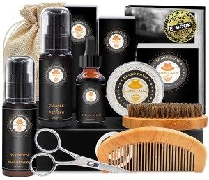 XIKEZAN beard grooming kit, best Amazon deals