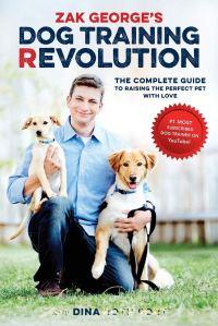 Zak George dog training, best dog training books