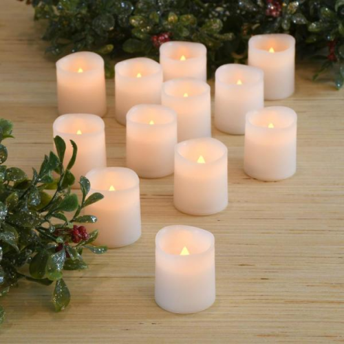 flameless votive candles