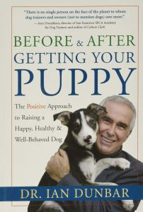 before and after getting your puppy, best dog training books