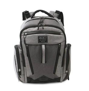 Eddie Bauer Places & Spaces Bridgeport Diaper Bag Backpack, budget diaper bag for dads