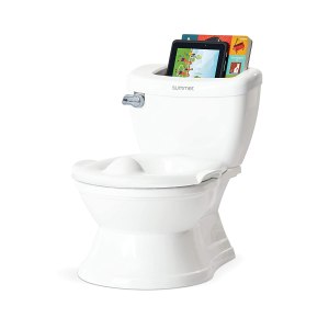 Realistic toddler potty seat