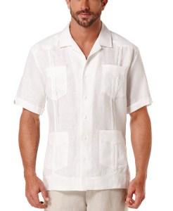 Cubavera Guayabera Shirt ( Bright White)