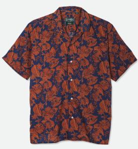 Gitman Vintage Floral Voile Camp Shirt, best camp collar shirt