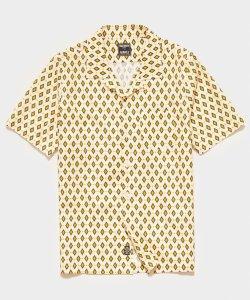 Todd Snyder Camp Collar Short Sleeve Shirt