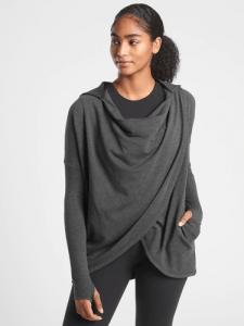 purana wrap sweatshirt