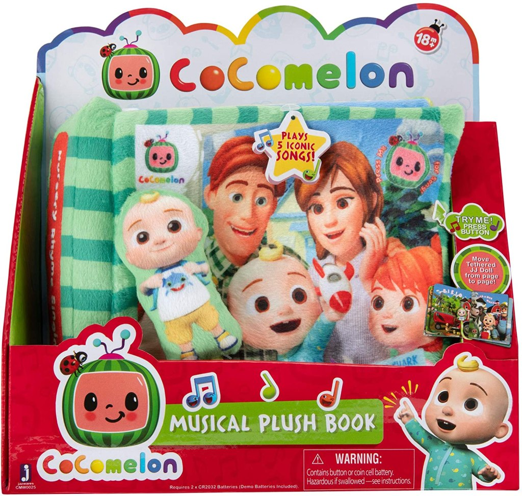 CoComelon Musical Plush Book
