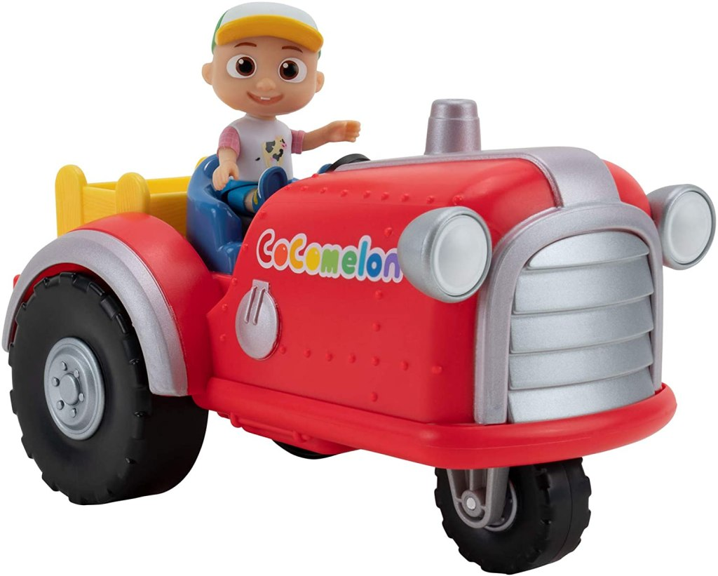 Cocomelon Musical Tractor Toy