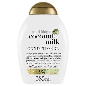 ogx coconut milk conditioner, vaccine benefits