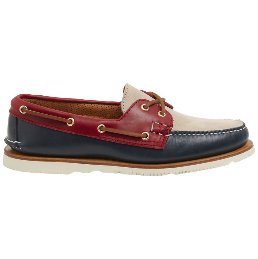 Sperry Gold Cup Handcrafted in Maine Tri-Tone Boat Shoe