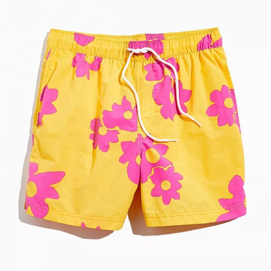 UO Daisy Print Swim Short
