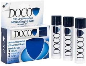 DocoShield cold sore prevention lip balm, what is jojoba oil