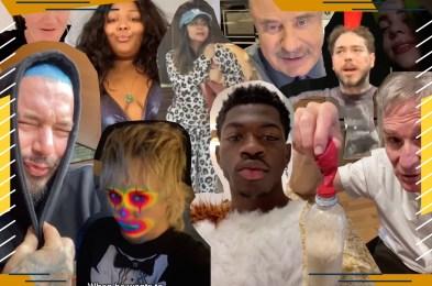 Celebrity TikTokers
