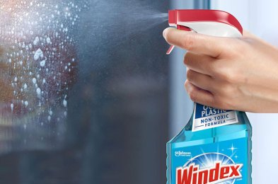 achieve crystal-clear, fingerprint-free windows & mirrors with these glass cleaners