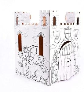 Cardboard castle fort