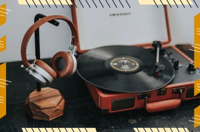 OAKYWOOD Wood Headphone Stand