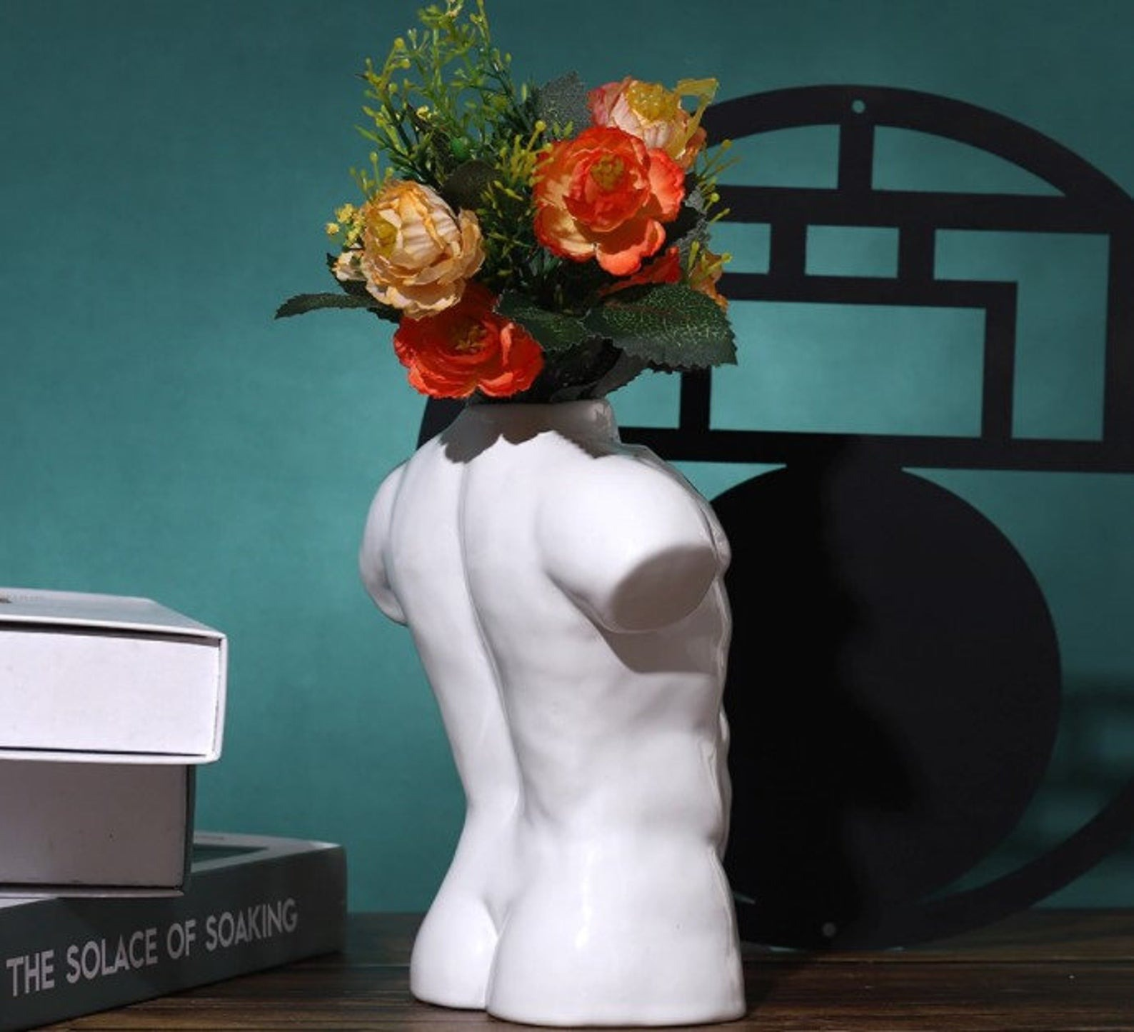 Our Lovely Art Shop Male Body Nude Vase