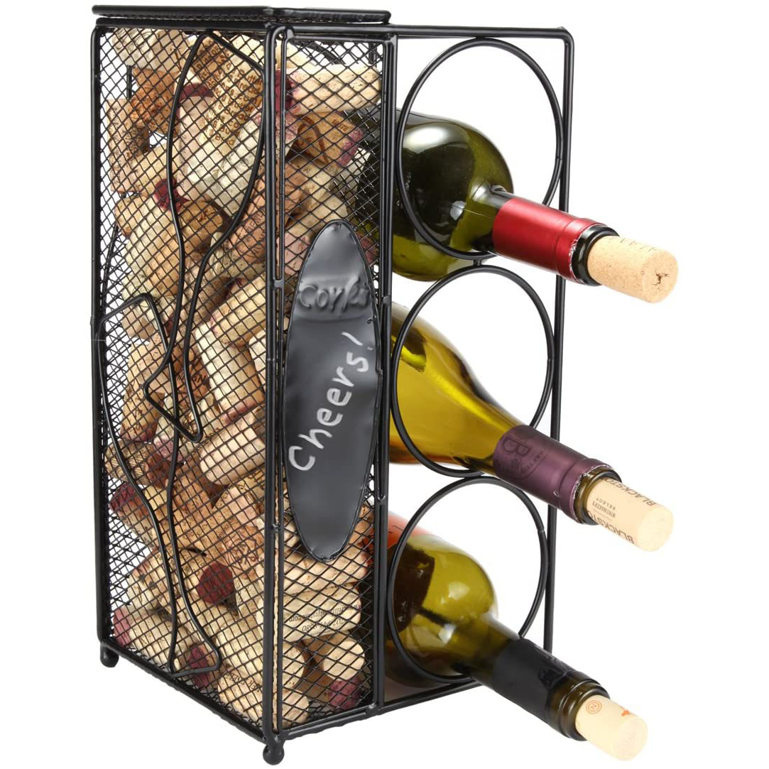 Home-X Keepsake Wine Cork Holder