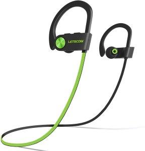 LETSCOM bluetooth headphones, best waterproof earbuds