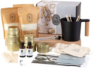 Scandinavian candle co., luxury candle making kit