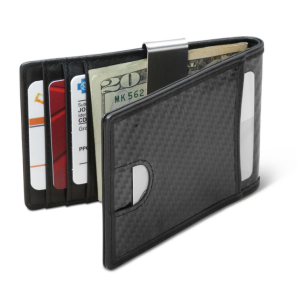 The Ultrathin Carbon Fiber Money Clip Wallet, best metal wallet