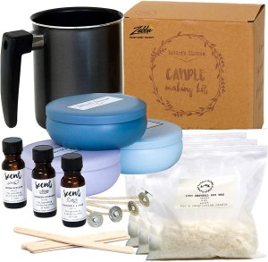 nature's blossom candle making kit