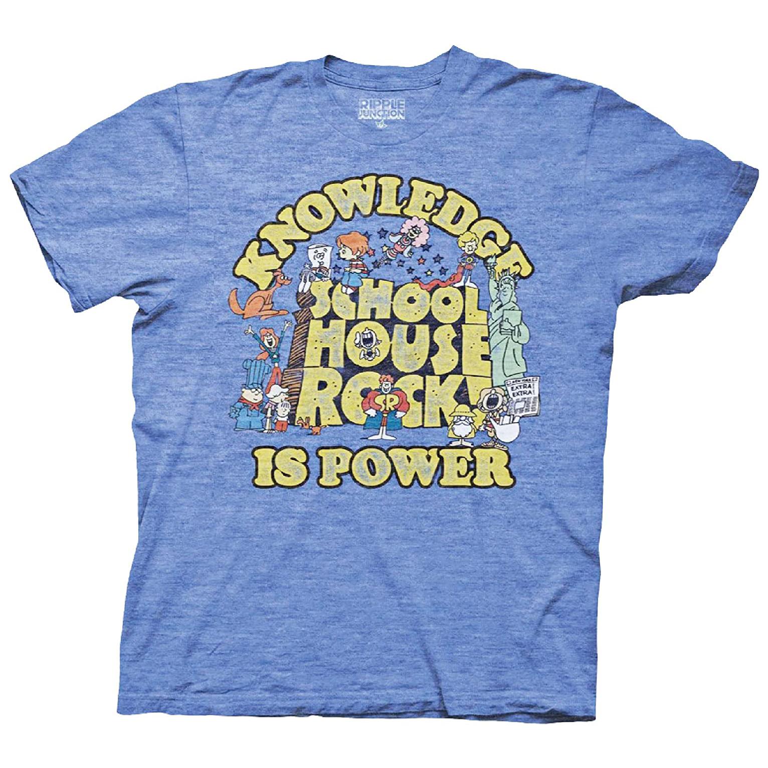 Ripple Junction Schoolhouse Rock Vintage Style T-Shirt