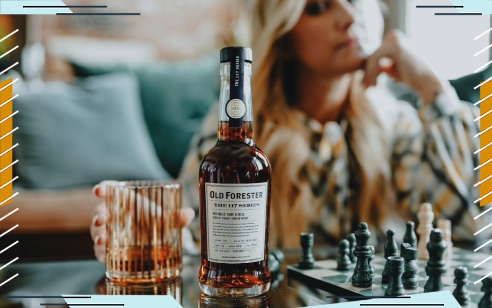 old forester angels share bourbon review